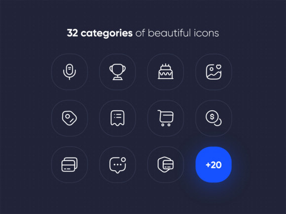 Iconsax categories